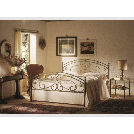 lit 160cm fer forg 1174 achat vente structure de lit lit 160cm fer forg 1174 fer forg. Black Bedroom Furniture Sets. Home Design Ideas
