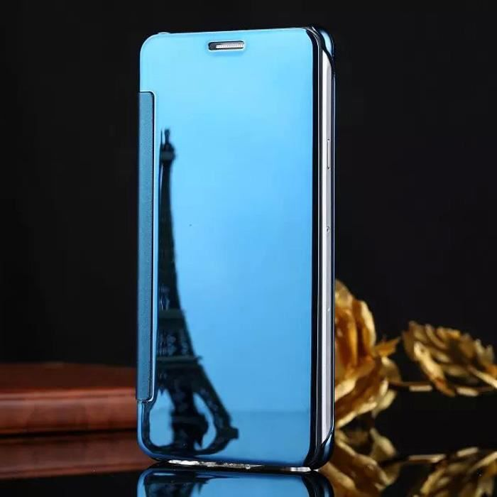 erdong etui housse pour samsung galaxy j5 2016 sm j510fn clear view coque protection cover. Black Bedroom Furniture Sets. Home Design Ideas