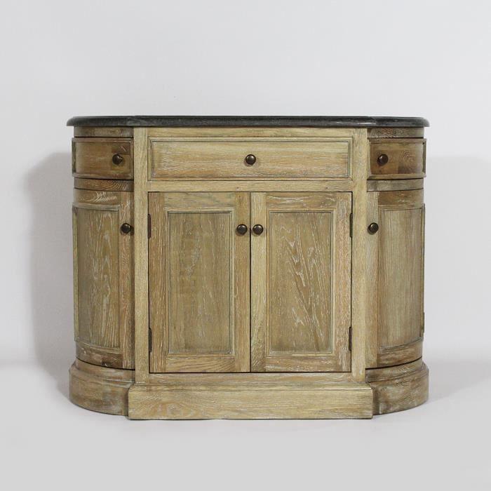 meuble salle de bain authentiq en chene massif achat vente meuble vas. Black Bedroom Furniture Sets. Home Design Ideas