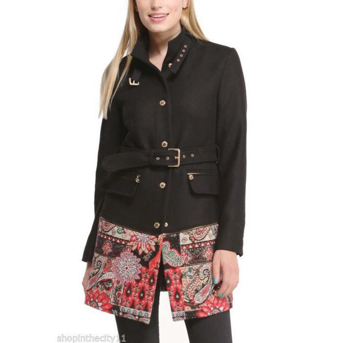 manteau desigual femme modele natalia 2 en 1 achat. Black Bedroom Furniture Sets. Home Design Ideas