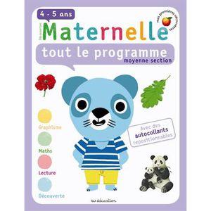 Livre ecole maternelle moyenne section achat vente - Livre maternelle gratuit ...