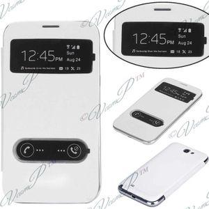 HOUSSE - ÉTUI Etui View case Samsung Galaxy Note 2 N7100/ N7105