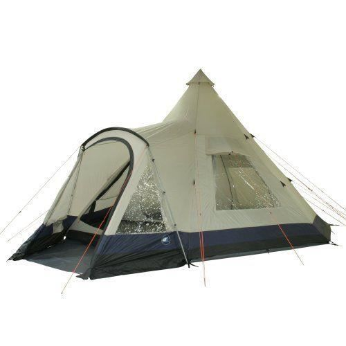 10t apache 600 tente pyramide pour 12 personnes beige. Black Bedroom Furniture Sets. Home Design Ideas