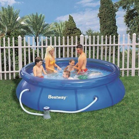 Piscine autoportante bestway diam tre 2 44m x h achat for Achat piscine autoportante