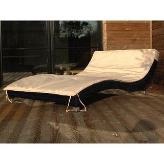 bain de soleil fixe 2 places vague r sin achat vente. Black Bedroom Furniture Sets. Home Design Ideas