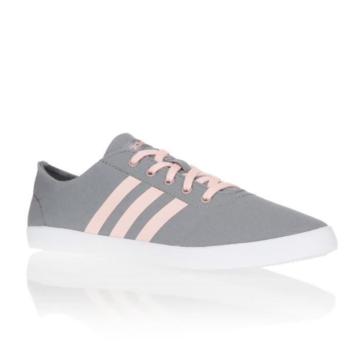 Mode Tennis Neo Femme Court Adidas Chaussures Rose Vl Bleu WH9YED2I