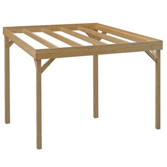 pergola en bois infinity 300x300cm traitement vert achat vente pergola pergola en bois. Black Bedroom Furniture Sets. Home Design Ideas