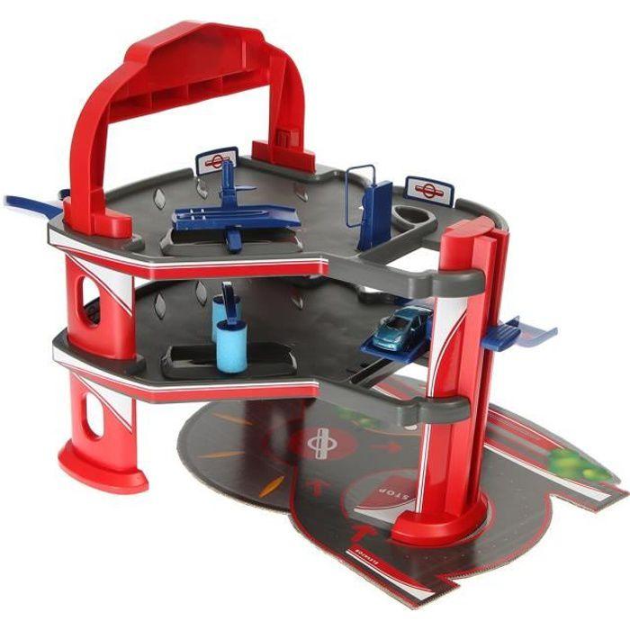 Majorette garage de ville 3 niveaux 1 v hicule achat for Garage voiture occasion avec facilite de paiement