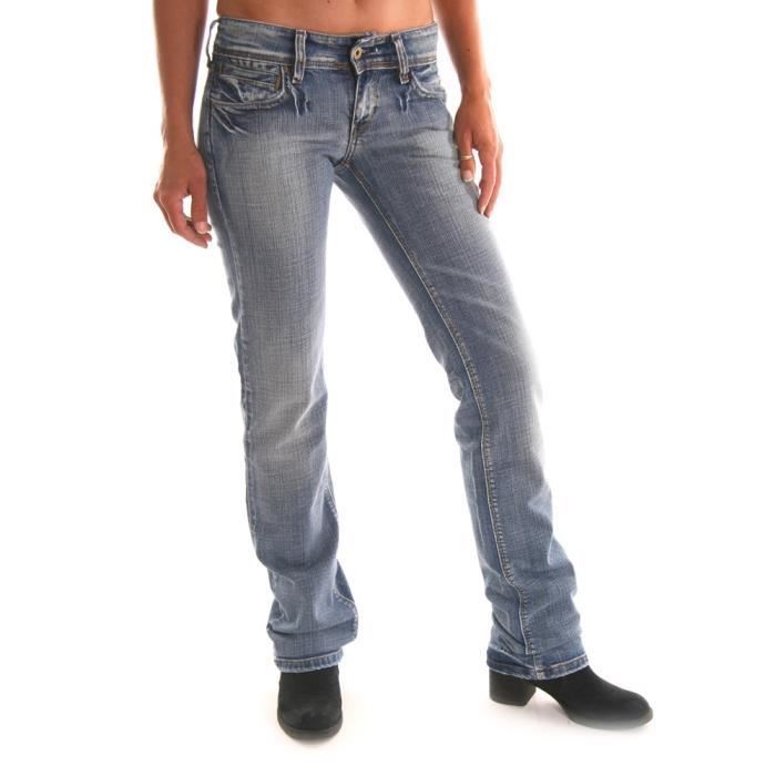 jeans Levis 570 bleu femme coupe... Bleu - Achat / Vente jeans - Cdiscount