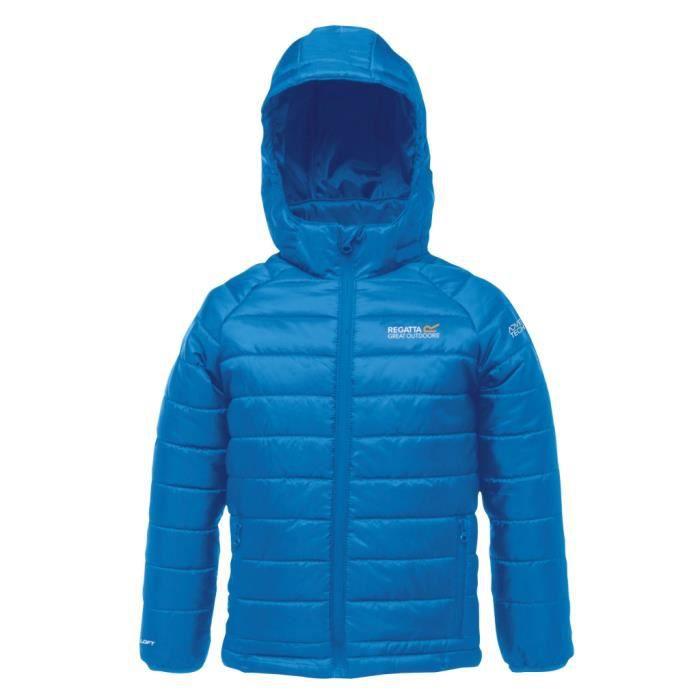 regatta iceforce manteau d 39 hiver enfant bleu bleu achat vente blouson de sport cadeaux. Black Bedroom Furniture Sets. Home Design Ideas