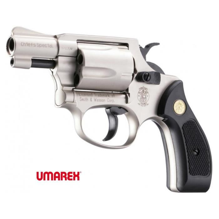 Smith wesson chiefs sp cial arm d f cal 9mm r k achat for Arme defense maison