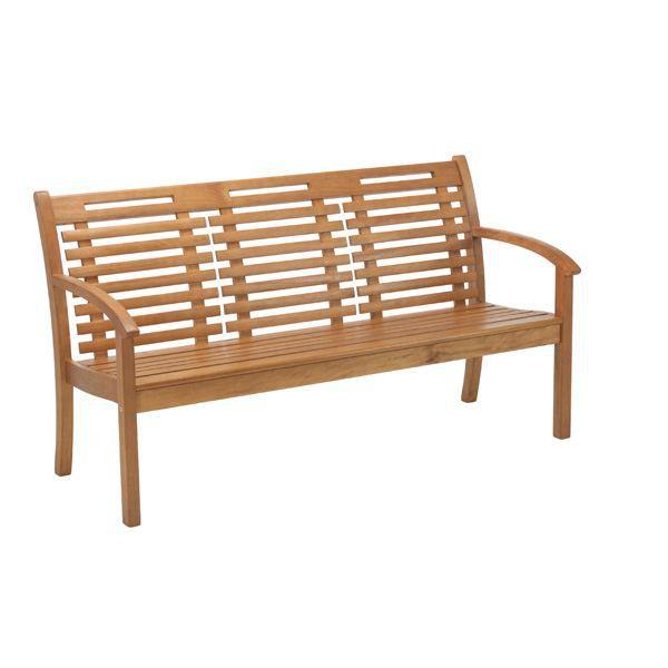 banc 3 places bois exotique lake sylva achat vente banc banc 3 places en bois exotique. Black Bedroom Furniture Sets. Home Design Ideas