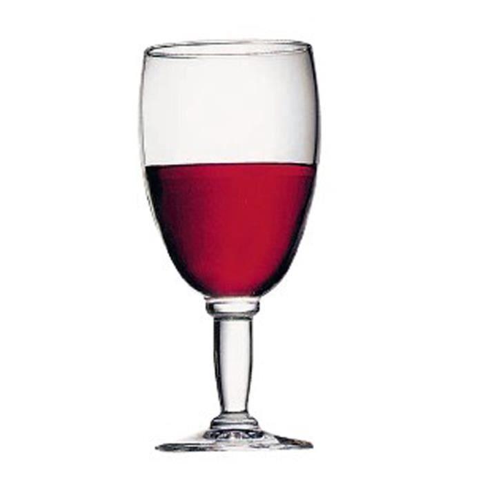 lot de 12 verres a pied new kalix eau 27cl achat vente verre vin cdiscount. Black Bedroom Furniture Sets. Home Design Ideas