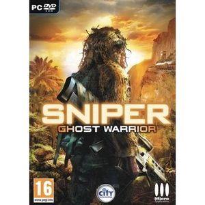 JEU PC SNIPER GHOST WARRIOR / Jeu console PC