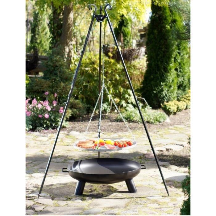 2 en 1 un barbecue et un brasero de chaudron hongrois - Les produits menagers utilises dans le jardin ...