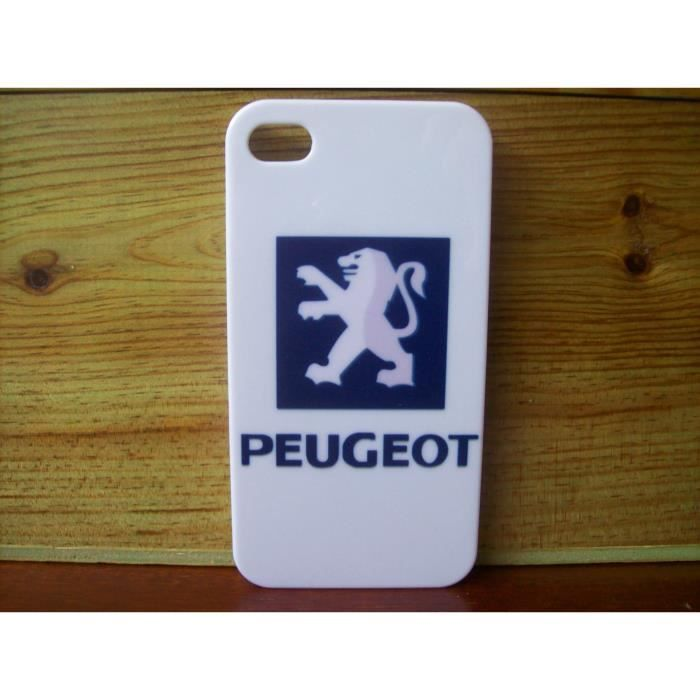 coque peugeot neuf iphone 4 4s motif a achat coque. Black Bedroom Furniture Sets. Home Design Ideas
