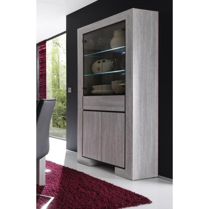 argentiere aruscka wenge achat vente vitrine argentier argentiere aruscka wenge verre. Black Bedroom Furniture Sets. Home Design Ideas