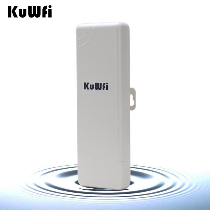 kuwfi plein air ext rieur imperm ables de 2 km de distance sans fil 150mbps cpe 1 000 points d. Black Bedroom Furniture Sets. Home Design Ideas
