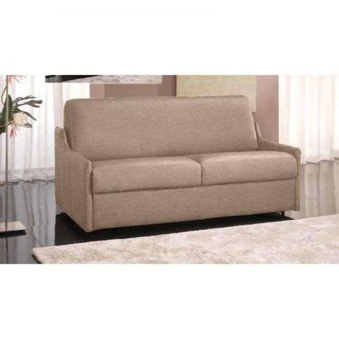 canap lit 4 places luna convertible rapido 160 cm microfibre cru achat vente canap. Black Bedroom Furniture Sets. Home Design Ideas