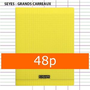 cahier 24x32 48 pages