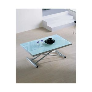 Table basse relevable extensible achat vente table - Table basse relevable et extensible pas cher ...