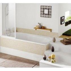 baignoire twinside aquarine 170x80 blanc achat vente baignoire kit balneo baignoire. Black Bedroom Furniture Sets. Home Design Ideas