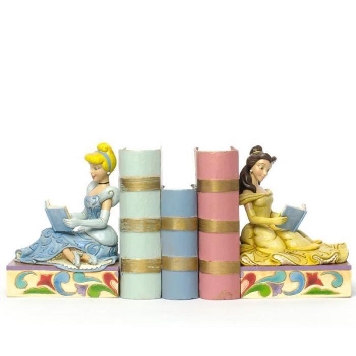 serre livres princesses belle et cendrillon achat vente presse papier serre livres bois. Black Bedroom Furniture Sets. Home Design Ideas