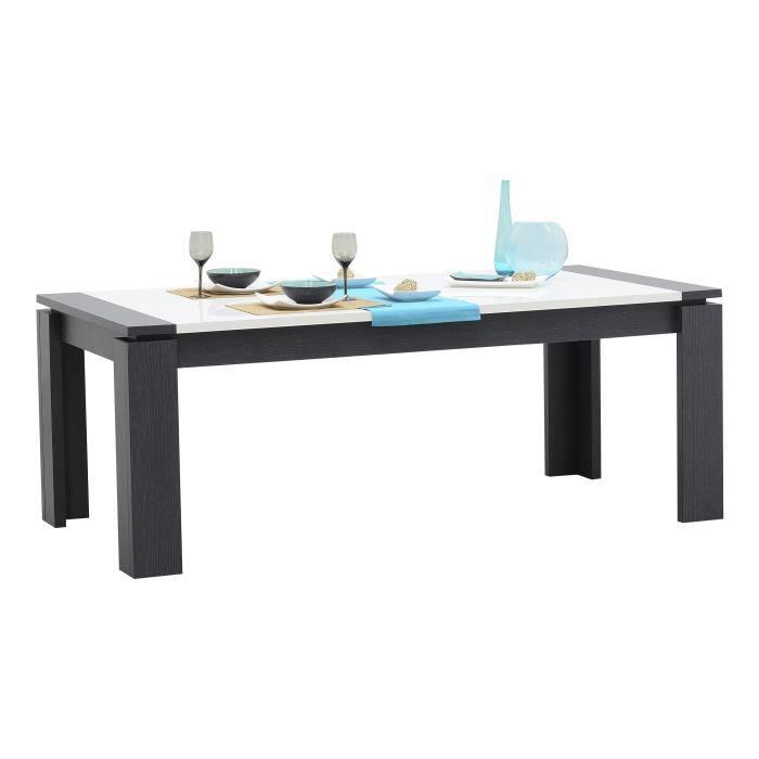 Table salle manger en bois avec rallonge achat vente - Table a manger avec rallonge ...