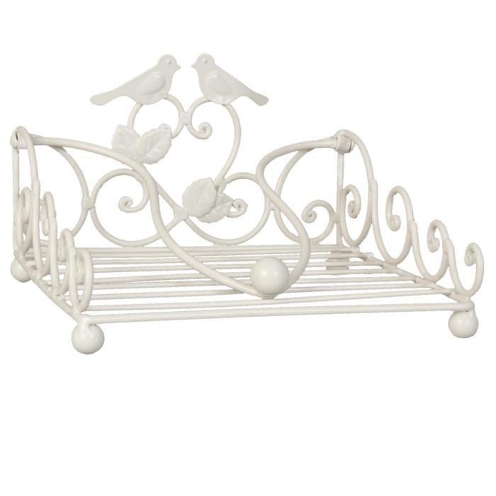 Porte serviette oiseau clayre eef achat vente porte for Porte serviettes de table