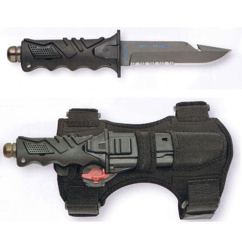 couteau de plongee fox ocean master 2 etuis prix pas cher les soldes sur cdiscount. Black Bedroom Furniture Sets. Home Design Ideas