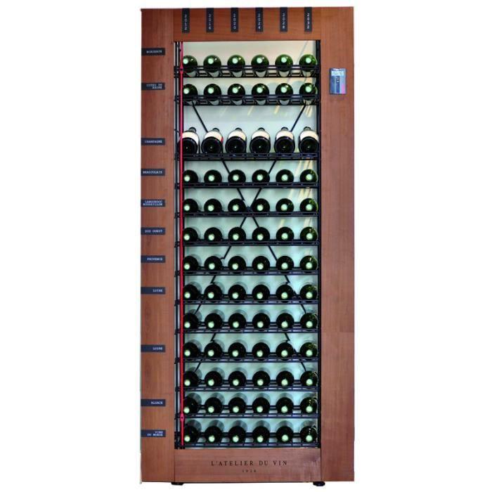 l 39 atelier du vin biblioth que intelligente po achat vente meuble range bouteille l. Black Bedroom Furniture Sets. Home Design Ideas