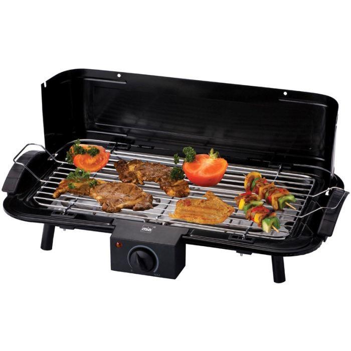 Gril de table mia tg8074n achat vente grill lectrique - Grill electrique de table ...