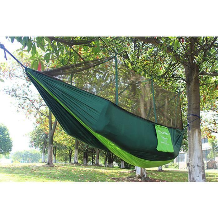 hamac de jardin avec moustiquaire en plein air avec housse. Black Bedroom Furniture Sets. Home Design Ideas
