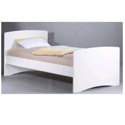 lit junior nature 90x190 7t051 sauthon easy achat vente lit complet lit junior nature 90x190. Black Bedroom Furniture Sets. Home Design Ideas