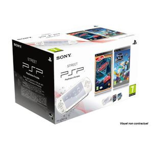 CONSOLE PSP PACK PSP STREET + PHINEAS & FERBS + CARS 2
