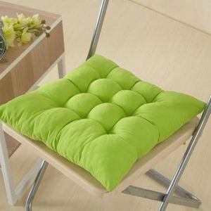 coussin de chaise vert achat vente coussin de chaise vert pas cher cdiscount. Black Bedroom Furniture Sets. Home Design Ideas