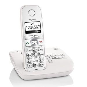 Téléphone fixe Gigaset E310A Téléphones Sans fil Répondeur Ecran