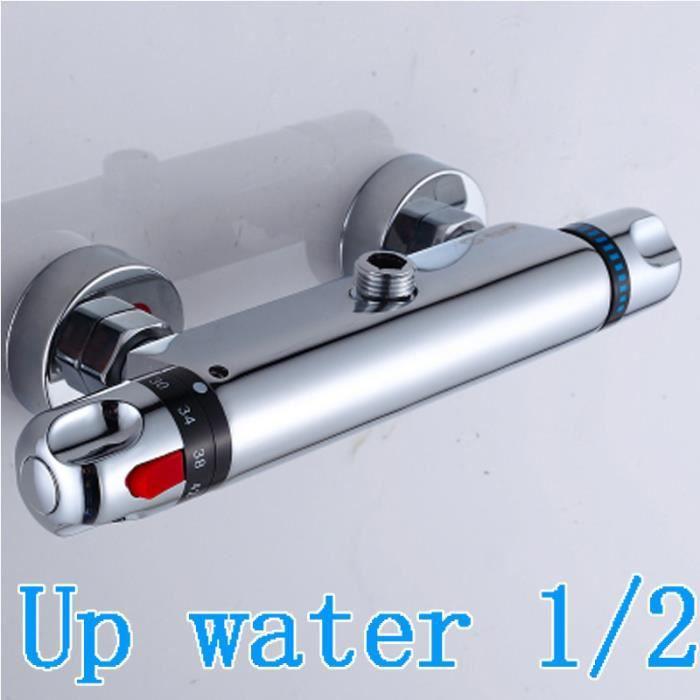 Thermostatiques cuivre salle de bain robinet de contr le - Temperature salle de bain ...