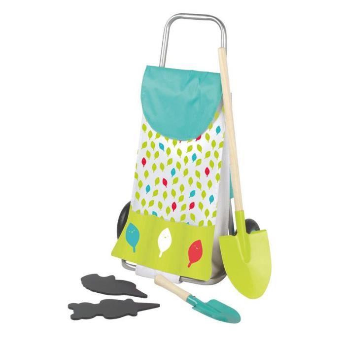 house of toys chariot de jardinage enfant avec accessoires achat vente jardinage brouette. Black Bedroom Furniture Sets. Home Design Ideas