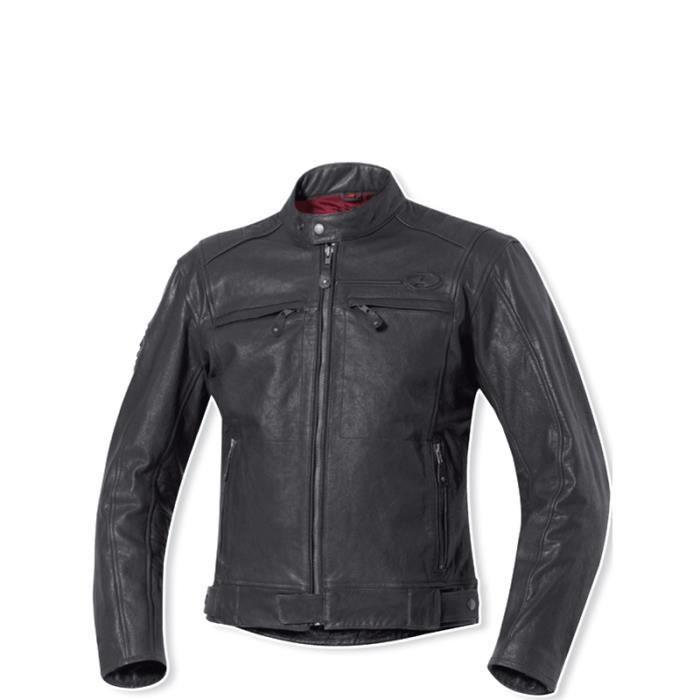 blouson moto homme en cuir vachette strong bullet held achat vente blouson veste blouson. Black Bedroom Furniture Sets. Home Design Ideas