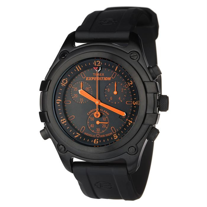 timex expedition montre chronographe homme achat vente. Black Bedroom Furniture Sets. Home Design Ideas