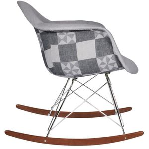 Chaise patchwork achat vente chaise patchwork pas cher for Chaise rar patchwork
