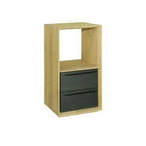 Bloc tiroir en bois achat vente bloc tiroir en bois Meuble 2 cases