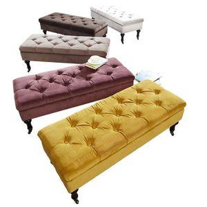 banc capitonne achat vente banc capitonne pas cher cdiscount. Black Bedroom Furniture Sets. Home Design Ideas
