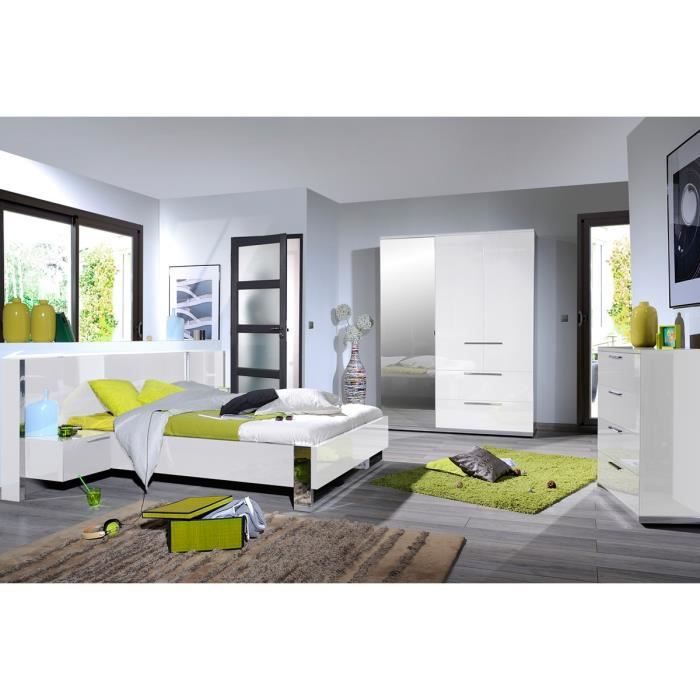 Chambre adulte compl te 140 190 sunny n 4 achat for Chambre complete adulte 140
