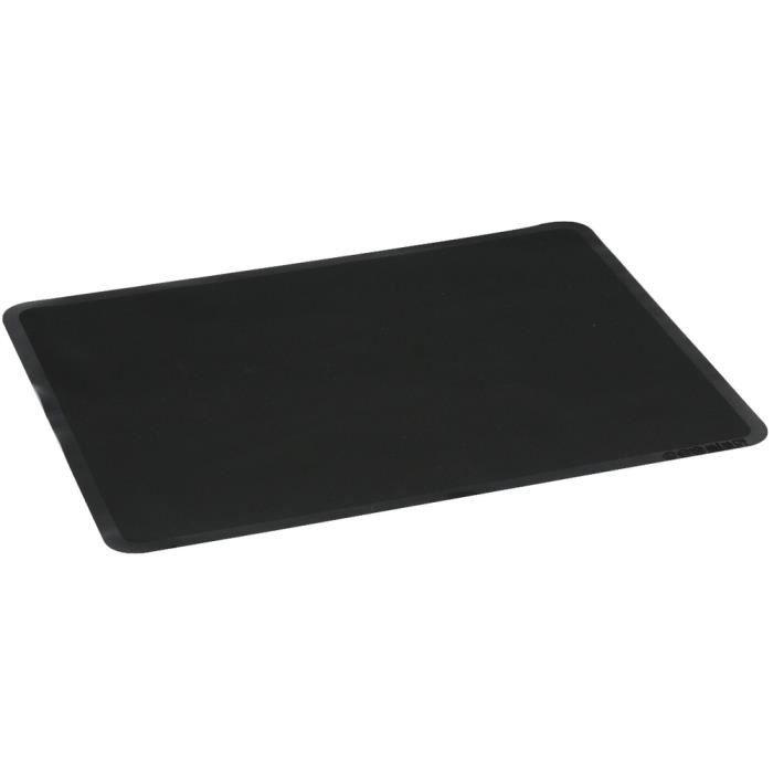 feuille de cuisson en silicone tapis de patisserie pour four et pr paration noir achat vente. Black Bedroom Furniture Sets. Home Design Ideas