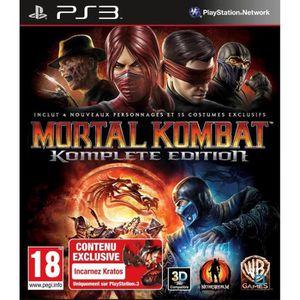 JEU PS3 MORTAL KOMBAT GOTY / Jeu console PS3