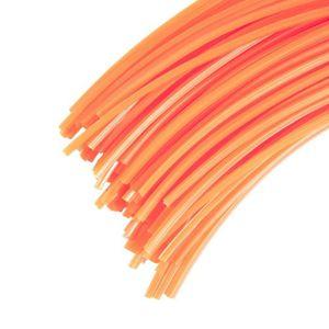 TÊTE - BOBINE - FIL 60 Brins 4 mm X 42cm de fil professionnel carré po