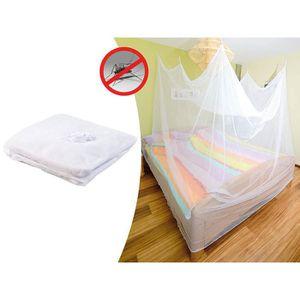 Moustiquaires lit double achat vente moustiquaires lit - Moustiquaire baldaquin pour lit double ...