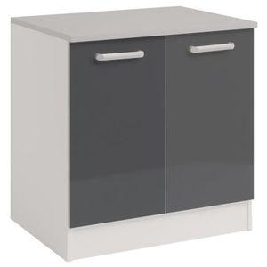 meuble sous evier 60 cm achat vente meuble sous evier 60 cm pas cher cdiscount. Black Bedroom Furniture Sets. Home Design Ideas